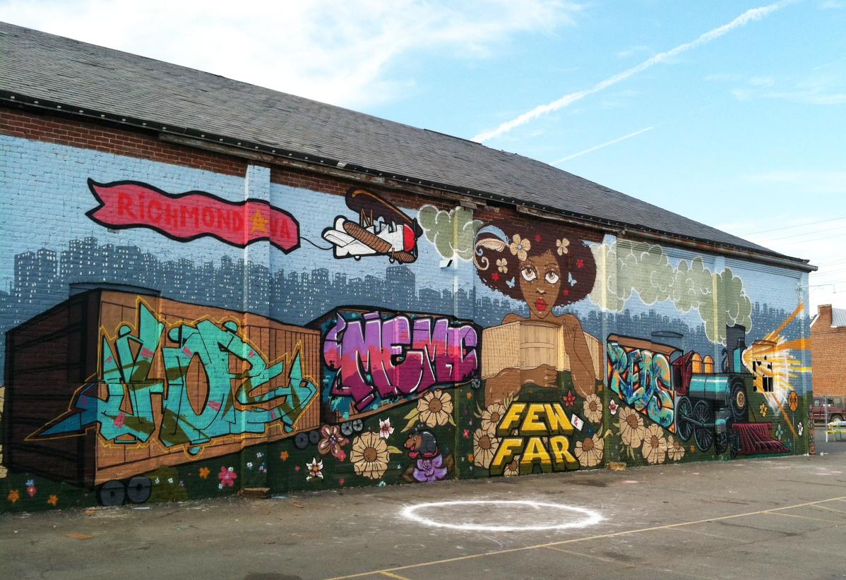 RVA Street Art Festival, 2012