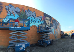 Oakland wall, 2015
