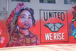 Social Justice mural
