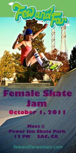 Female Skate Jam