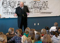 Steve Stark will be featured speaker at Geographical Center Historical Society dinner April 14, 2013.