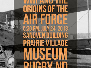 Air museum director speaking July 24, on WWI pilots, planes