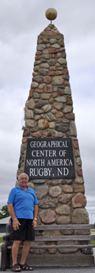 Museum, Geographical Center of North America, Highway 2, North Dakota, Prairie Village Museum, Rugby, ND