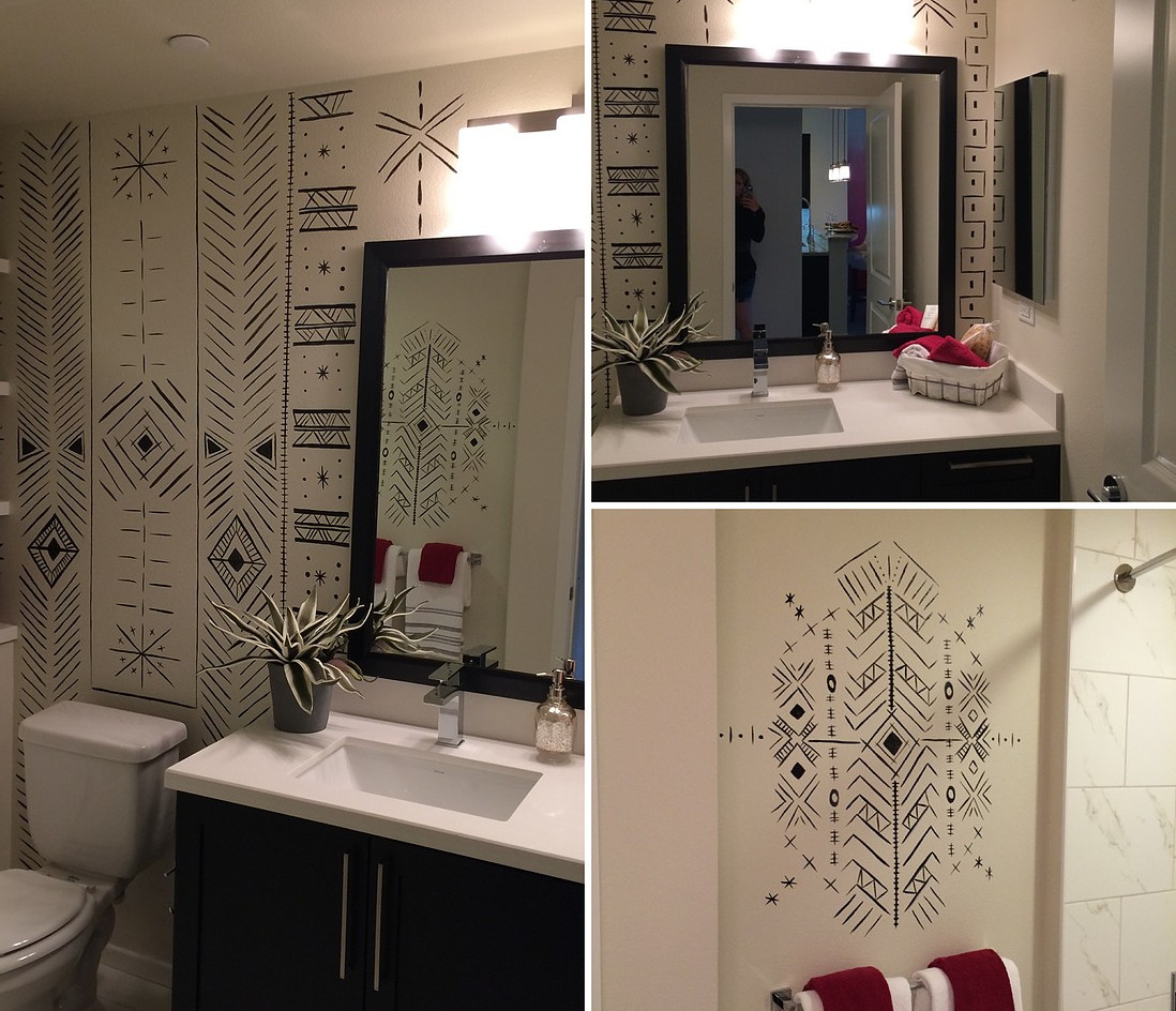 Tribal Bathroom Design