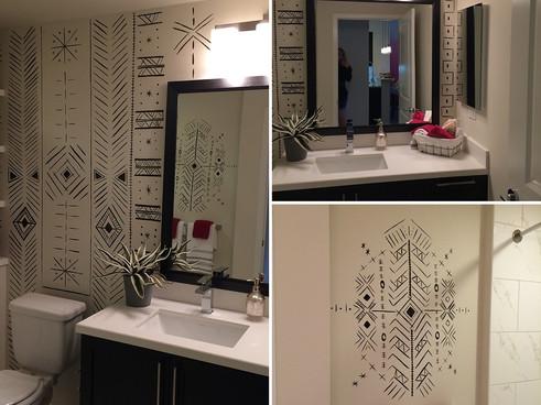Tribal Bathroom Design