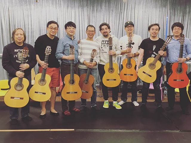 Antonio Rey guitar workshop in Hong Kong 🇭🇰