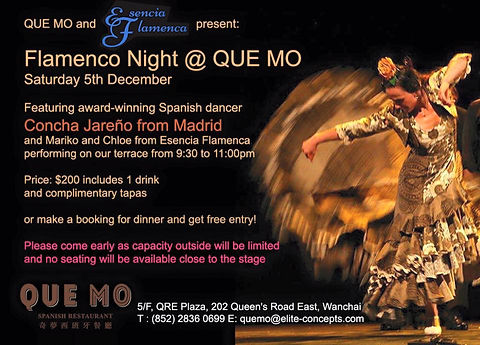 Flamenco show by Concha Jareno