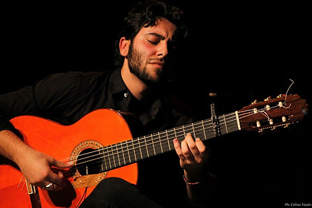 flamenco guiarist Yerai Cortes