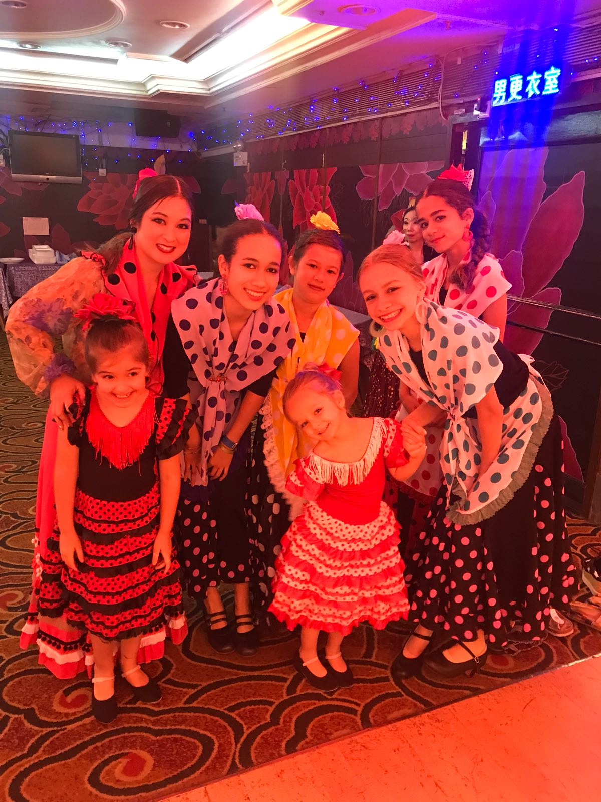 Kids flamenco