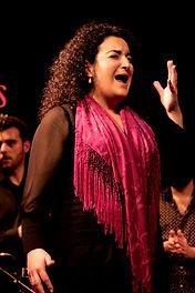 flamenco singer Eva La Lebri