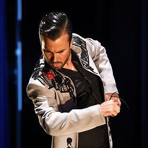 flamenco dancer Adrian Santana