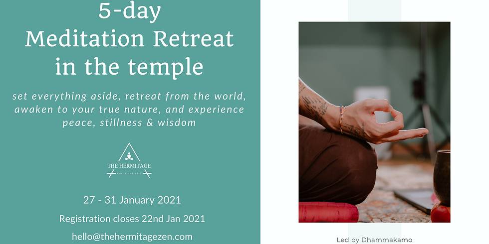 5-day Silent Meditation Retreat