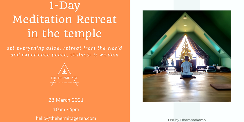 One-Day Silent Meditation Temple Retreat