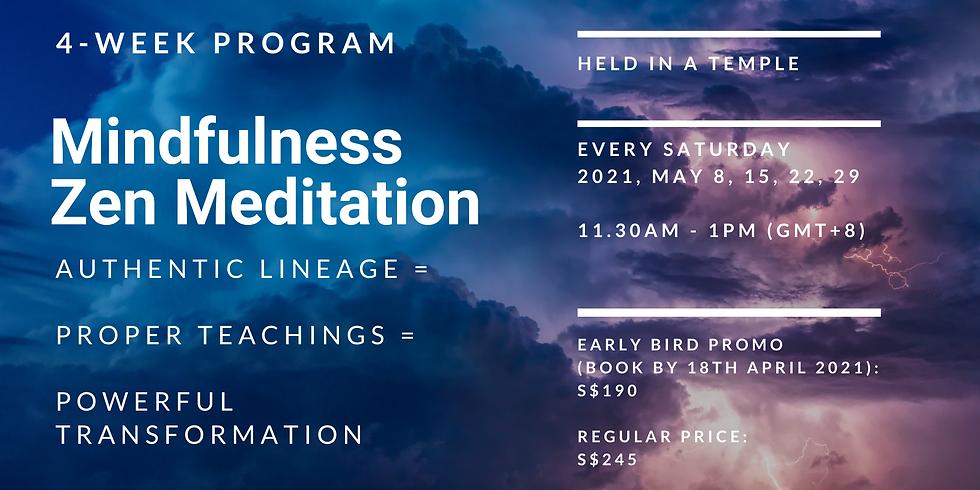 4-Week Mindfulness Zen Meditation