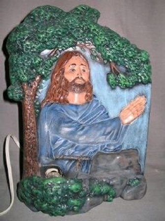 Jesus in the Garden Halogram