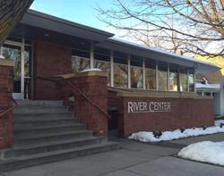 Entrance to River Center building