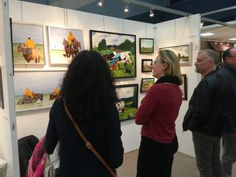 """Exposition """"Art en Flandre"""" en faveur de notre association"""