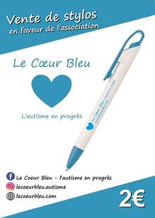 Vente de stylos au profit de l'association!