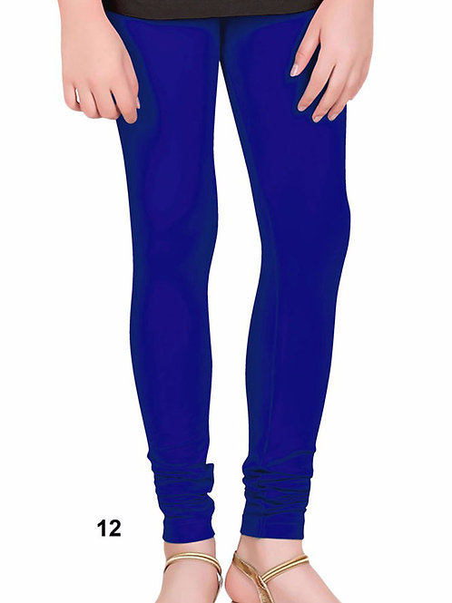 12 Navy Blue 4 Way Lycra Leggings