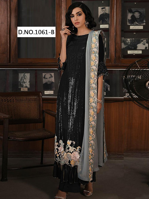 1061B Designer Pakistani Suit