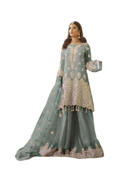 1010D Pakistani Style Designer Suit