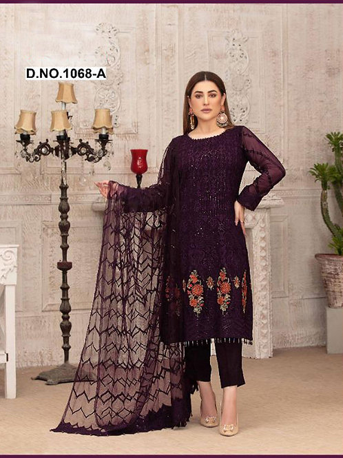 1068A Pakistani Style Designer Suit