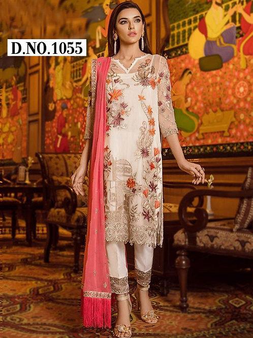 1055 Designer Pakistani Style Dress