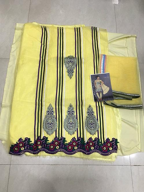 1543 Yellow Straight Suit
