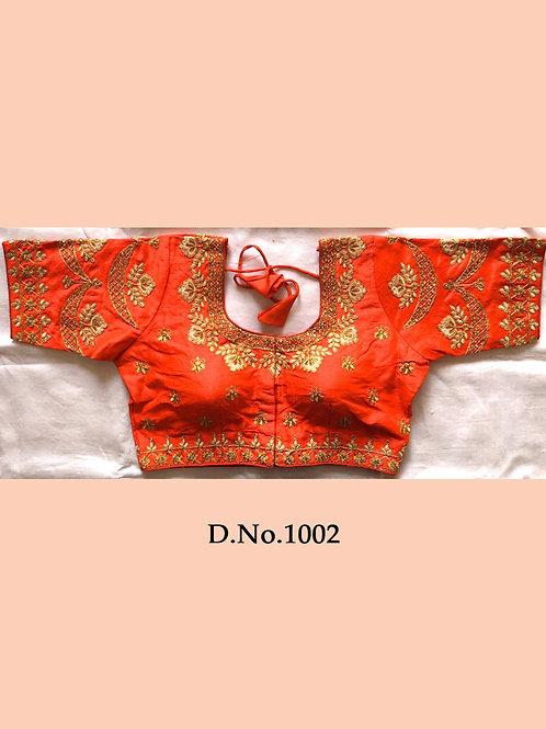 1002 Traditional Designer Blouse