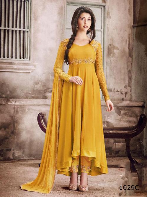 1029C Designer Georgette Anarkali Suit