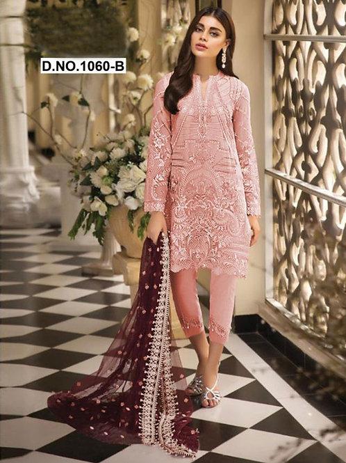 1060B Pakistani Style Designer Suit