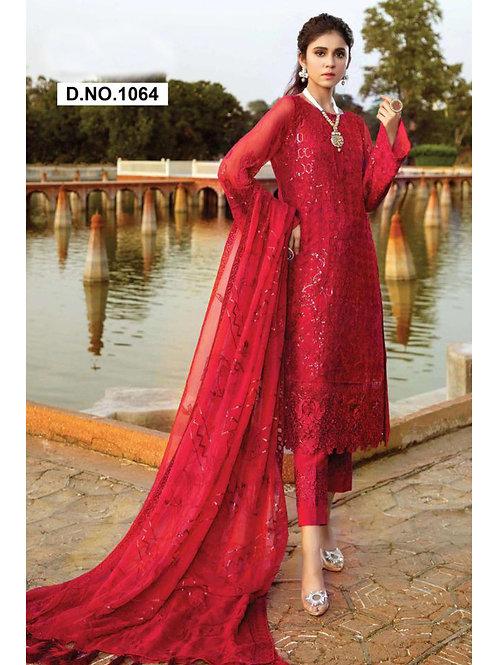 1064 Designer Pakistani Style Suit