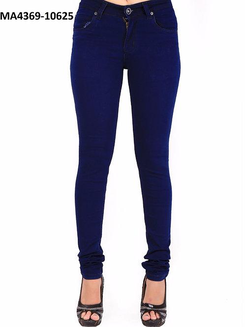 10625Midnight Blue Desinger Denim Stitched Jeans