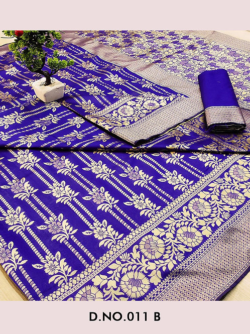 011B Banarasi Cotton Saree