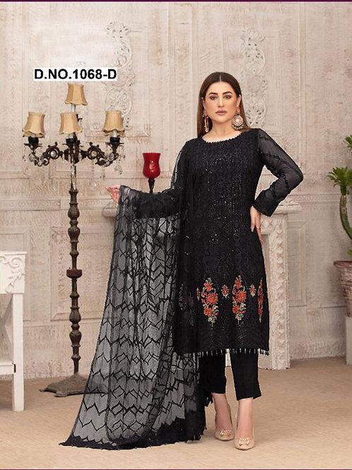 1068D Pakistani Style Designer Suit