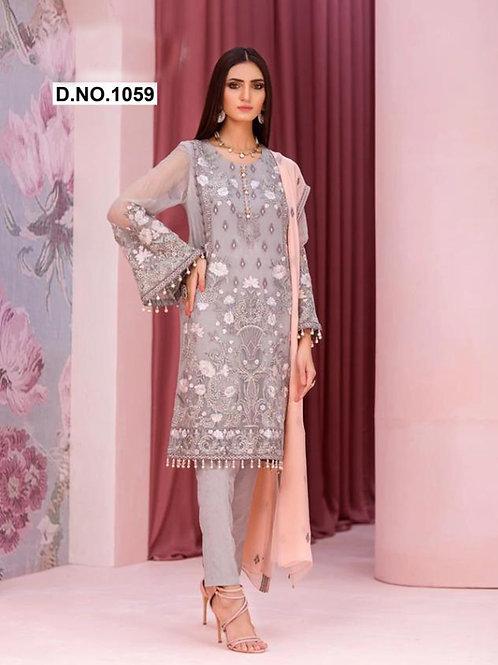 1059 Designer Pakistani Suit