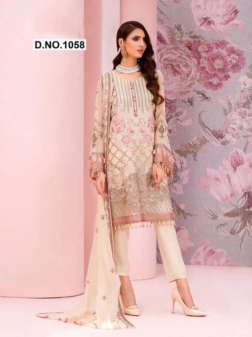 1058 Designer Pakistani Suit