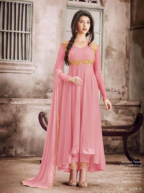 1029A Designer Georgette Anarkali Suit