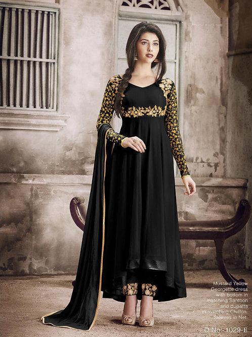 1029E Designer Georgette Anarkali Suit