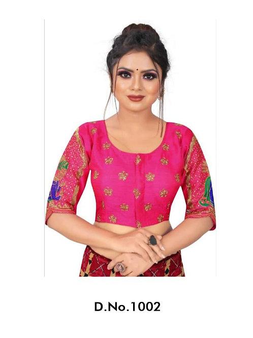 1002 Rajwadi Designer Blouse
