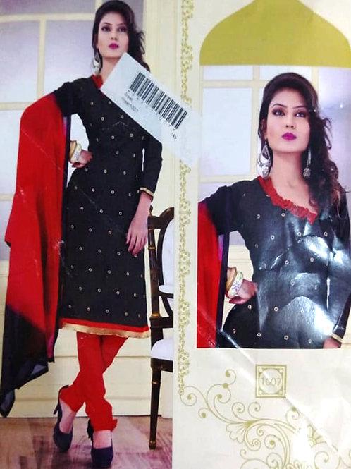 1007 Black Designer Daily Wear Salwar Suit