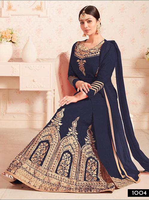 1004 Dark Blue Designer Suit