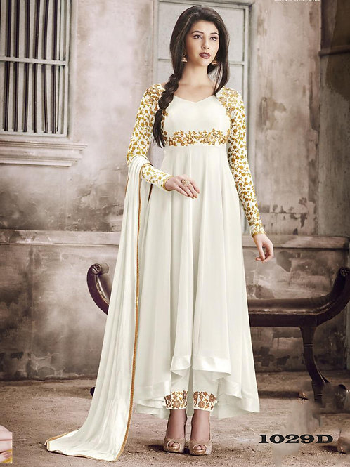 1029D Designer Georgette Anarkali Suit