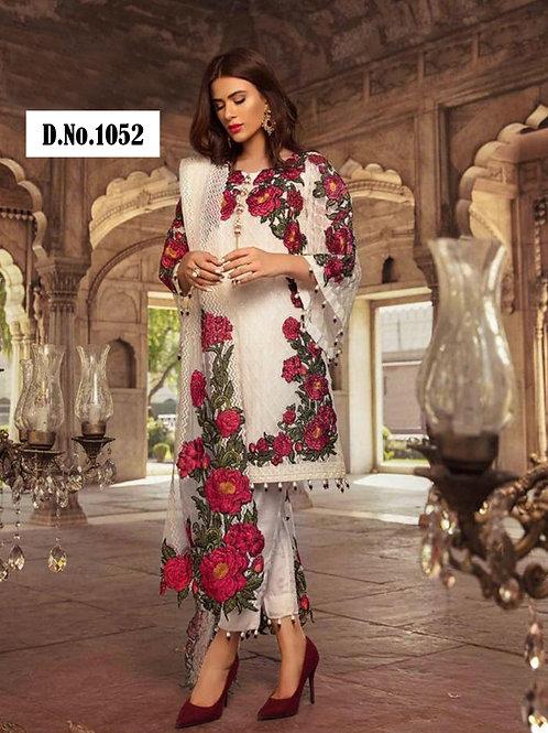 1052 Designer Pakistani Style Suit