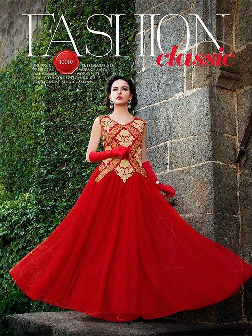 10007 Red Wedding Wear Gown