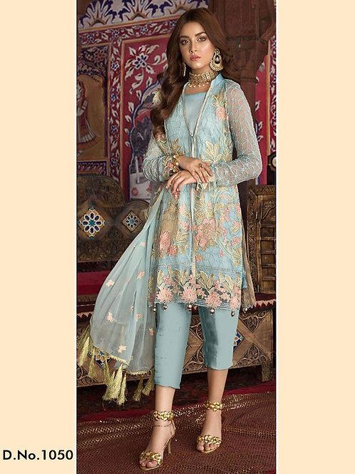 1050 Pakistani Style Designer Suit