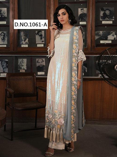 1061A Designer Pakistani Suit