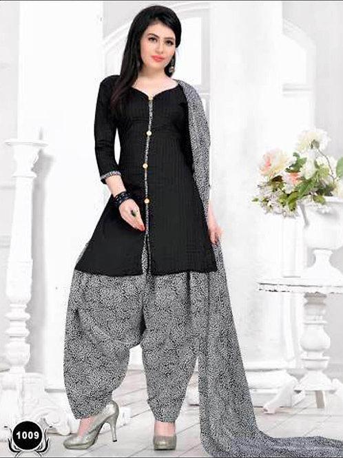 1009Black Casual Wear Designer Suit