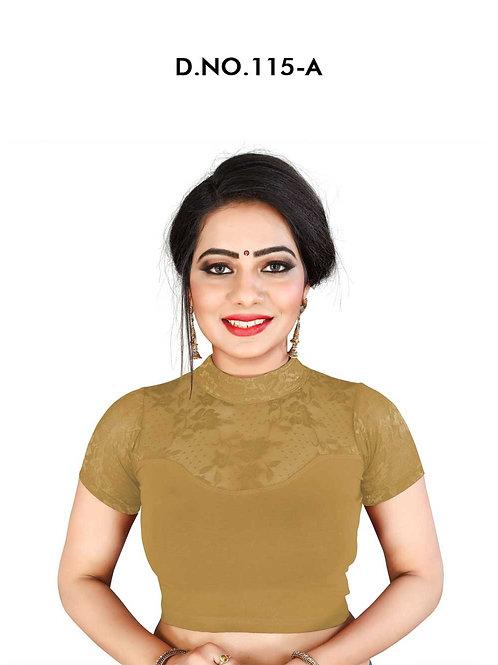 115A Feminine Ethnic Cotton Lycra Hosiery Blouse Collection