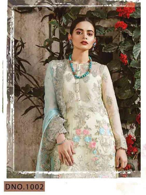 1002Freesia Pakistani Style Collection